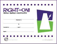 Music Teacher Award Certificate  Free Printable Music Award
