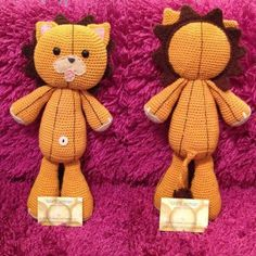 This crochet pattern is inspired by the character Kon from the popular anime series 'Bleach'. He is very detailed and roughly 40cm tall. This crochet pattern is inspired by a stuffed lion called Kon! His name is short for Kaizō Konpaku, he originates from the popular Japanese anime called 'Bleach', In the anime he was one of the last mod-souls to be created, who occasionally doubles as a Soul Candy pill for one of the characters, Ichigo Kurosaki, taking charge of his Human body.Kon&...