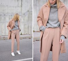 Get this look: http://lb.nu/look/8564127  More looks by Katarina Vidic: http://lb.nu/katiquette  Items in this look:  Nude Coat, All On My Blog   #chic #classic #minimal