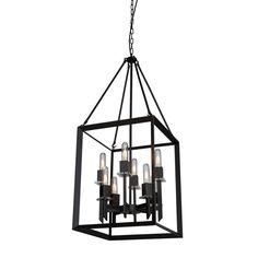 Filament Design Monte 8-Light Black Chandelier-CLI-ACG100687 - The Home Depot