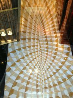 Aria Las Vegas resort - hypnotic tile pattern