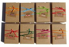 packaging- w/ colored twine & logo. Soap Packaging, Brand Packaging, Packaging Design, Simple Packaging, Elegant Gift Wrapping, Diy Wrapping, Cardboard Packaging, Simple Bags, Gift Bags