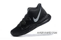 67aef8648a3 Nike Kyrie 5 Black Metallic Silver
