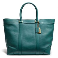 The Bleecker Legacy Weekend Tote In Leather from Coach - love this!