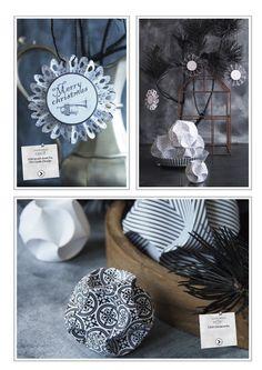 Vivi Gade Design paper - Paris - Click ornaments