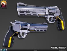 Revolver, Pistol done for Fenrir Studios Jake Nolt on ArtStation at https://www.artstation.com/artwork/revolver-11fcceac-713d-4c99-b5a7-34611088d455