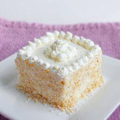 HCG Diet (P3) Coconut Cake @keyingredient #cake #cheese