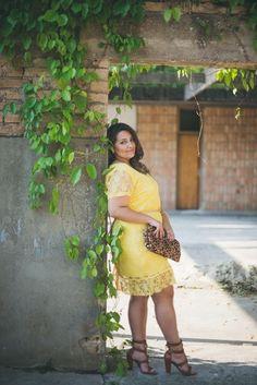 De volta : Retrospectiva de looks plus size em 2014 ! - Débora Fernandes