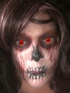 Skeleton makeup Skeleton Makeup, Horror Makeup, Halloween Face Makeup, Scary Makeup