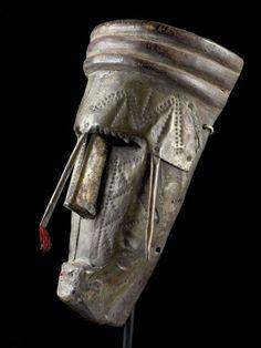 """12 Maske, """"dyoboli koun"""" Marka, Mali H 30 cm."""