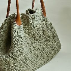 Forest Bag By Ana Tenorio - Purchased Crochet Pattern - (ravelry)