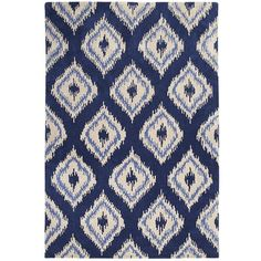 Dream Dining Room: This rug would bring a fun, contemporary vibe to a formal dining area.  My dream dining room would include a naturally stain resistant 100% wool rug like this. #contest