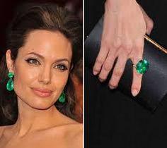 👑GLAMBARBIE👑 angelina jolie green earrings
