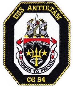 CG-54 USS ANTIETAM SHIP PATCH