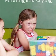 How to Stop the Whining and Crying in Kids
