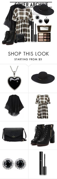 """""""Brown & Black"""" by reemarie on Polyvore featuring Lord & Taylor, Eugenia Kim, Relaxfeel, Chanel, Too Faced Cosmetics, women's clothing, women, female, woman and misses"""
