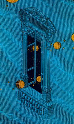 "frenzyandlightning:    beautiful-portals:    lunar-danse:                ""Paradox""  These sort of things keeps me up at night.                (via chrbutler)"