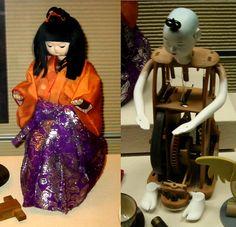 からくり人形 karakuri ningyo (mechanized puppets)