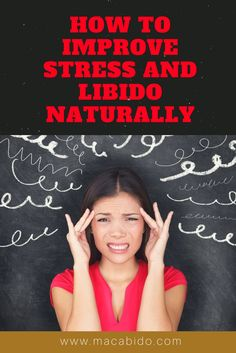 Low libido is often caused by day-to-day stress. Fortunately, there are natural and effective ways to soothe stress and get your libido back on track.