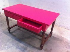 bureau rose - Mademoiselle Fabrique