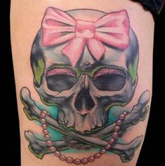 Skull Tattoos Designs For Girls And Women