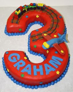 Thinking cakes in shapes of numbers might be just the ticket for fun this year!