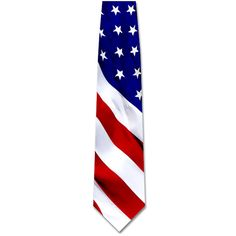 Tie - Patriotic Flag Tie | This American Pride silk tie | USA | America | Patriotic | Labor Day | Independence Day | Memorial Day | Events | Politics | Callard | Promotional Product | Men's Clothing