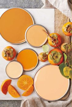 Citrus colors go from orangy-summers to pumpkin-ish falls. Photo: @bhg. #Inspiration #Spring #Summer