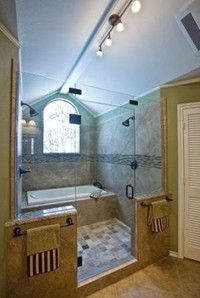 Tub Inside Shower.