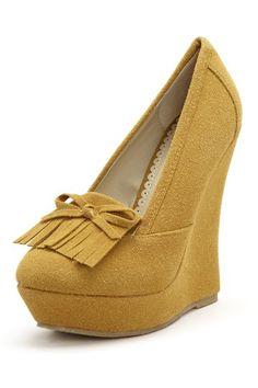 ANNA Shoes Madden Platform Wedges