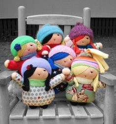 PATTERN Doll Little Girl Friend PDF by dmollison on Etsy, $10.00