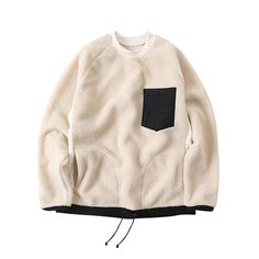 Discover the latest men's sweatshirt, polo, and hoodie fashion from leading contemporary designers like Y. Daily Fashion, Kids Fashion, Fashion Outfits, Fashion Design, Mens Sweatshirts, Hoodies, Clothing Patterns, Pull, Nice Tops