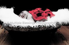 Ladybug Photo Prop ~ free pattern