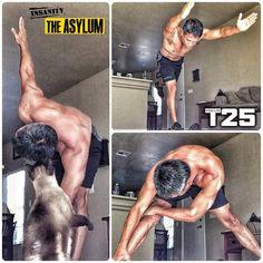 Arnel Banawa: T25 Dynamic Core   Insanity Asylum Relief Hybrid Workout