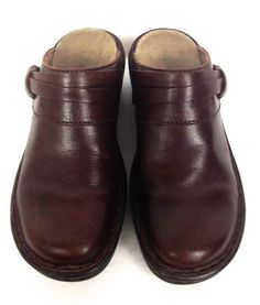 Clarks Shoes Brown Leather Loafers Women's 6 #Clarks #LoafersMoccasins