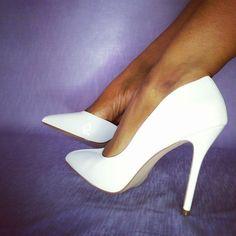 Patent Leather Pumps, Heels, Fashion, Heel, Moda, Fashion Styles, High Heel, Fashion Illustrations, Stiletto Heels