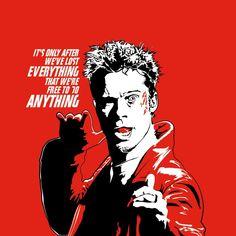"""in Tyler we trust "" from the FightClub / ft Brad Pitt & Edward Norton 1999 Film Movie, Series Movies, Fight Club Quotes, Fight Club 1999, Marla Singer, Naruto Tattoo, Tyler Durden, Best Joker Quotes, Cultura General"