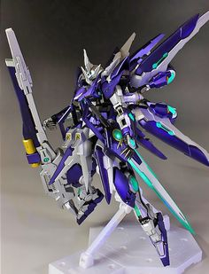 GUNDAM GUY: MG 1/100 Amazing Exia - Custom Build