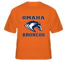 Omaha Denver Broncos Football T-Shirt  #nfl #denver #broncos #manning #18 #peyton #omaha