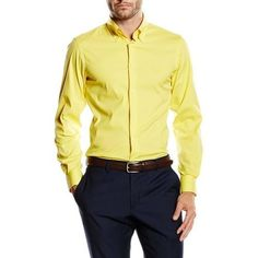 Versace 19.69 Abbigliamento Sportivo Srl Milano Italia Fit Slim Button Down Neck Shirt SBD65