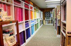 Patchwork Gaarden - Stor butik med patchwork stof og tilbehør