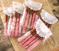 Pretty packaging (baby shower, valentine's day, mothers day, etc.)