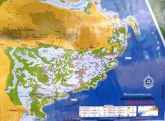 Mapa de Morrocoy