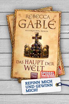 """<3 PINN MICH & GEWINN MICH <3 """"Das Haupt der Welt"""" ist ein historischer Roman, der in ein Deutschland der frühen Fürsten- und Herzogtümer entführt. Wer Lust hat, einem jungen Slawen durch Intrigen und Widerstände im Schatten der Krone zu folgen, sollte unbedingt zuschlagen!"""