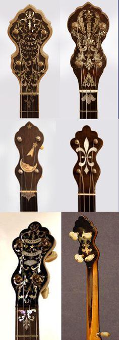 Various Banjo Head pieces