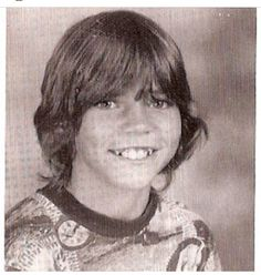 Eddie Vedder as a child