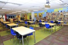 Target's school library makeovers