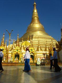 Glistening Shwedagon Pagoda – Yangon, Myanmar