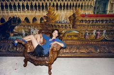 — Astrid Berges-Frisbey for Harper's Bazaar. Ph: Benoît Peverelli.