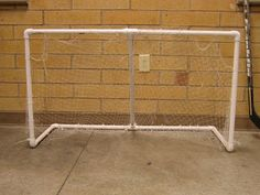 DIY make your own street hockey net